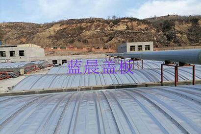 山东济宁某焦化企业不锈钢污水池盖板加盖项目