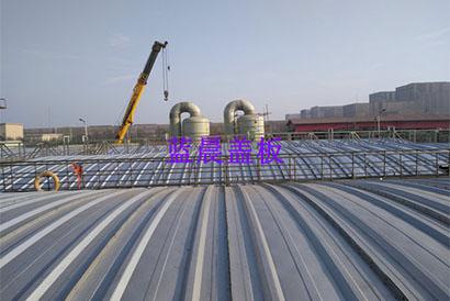 唐山某煤化工企业不锈钢污水池加盖工程