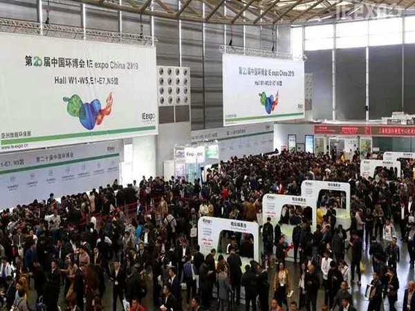 我公司不锈钢拱形盖板亮相第二十届中国环博会上海展
