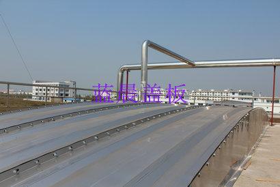 安徽黄山某化工企业污水池加盖工程