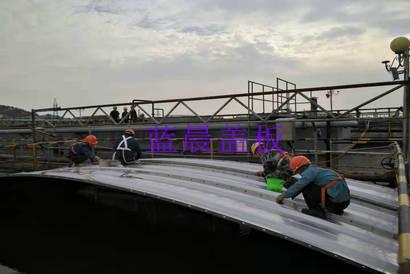 江苏徐州某化工污水池加盖除臭工程