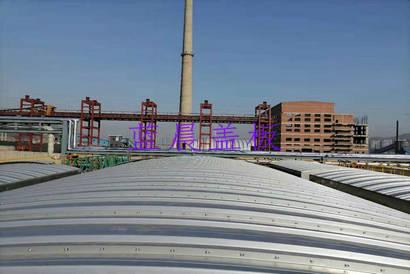 山西吕梁某焦化有限公司不锈钢污水池加盖工程